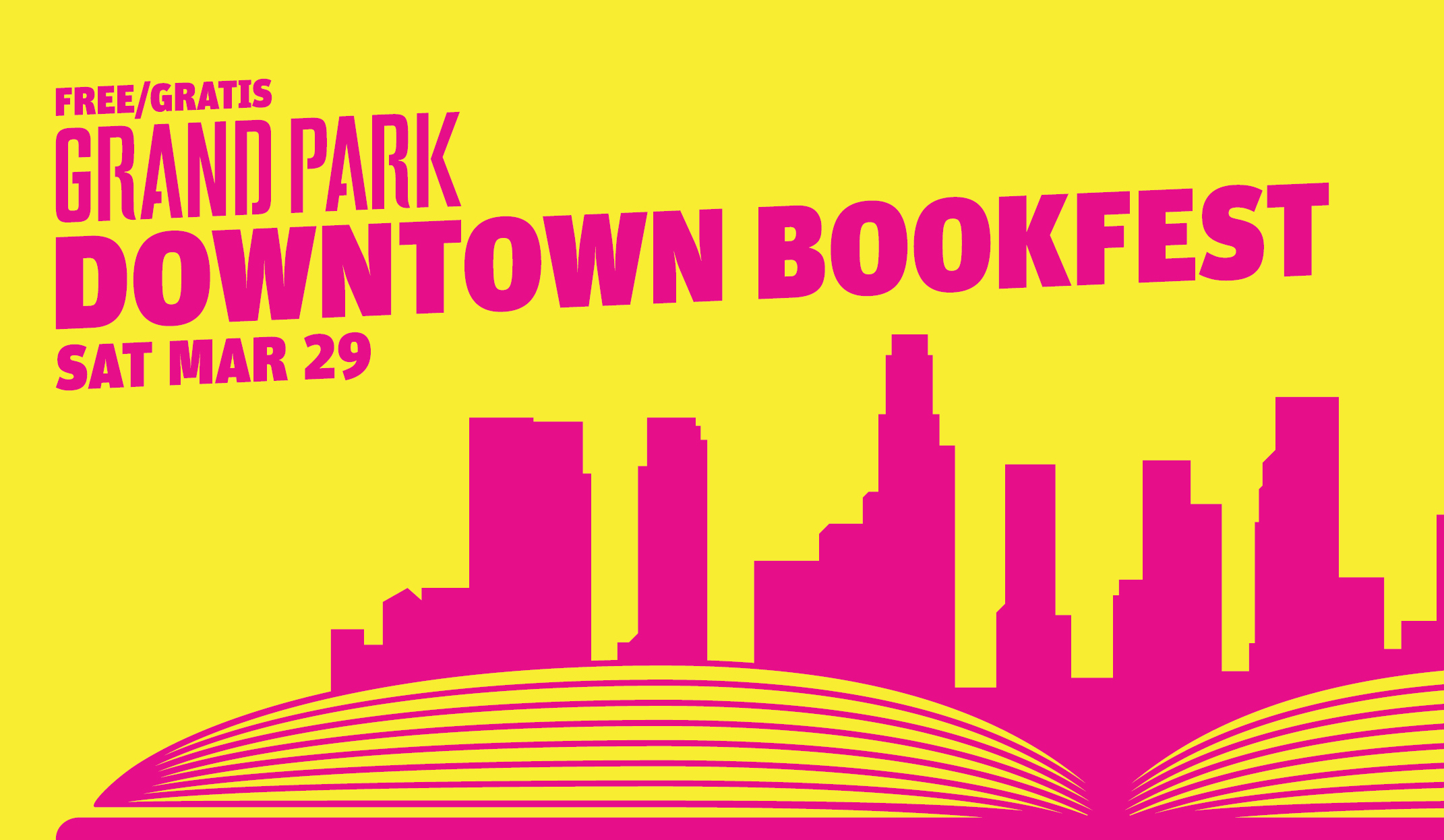 The 2nd Annual Grand Park Downtown BookFest