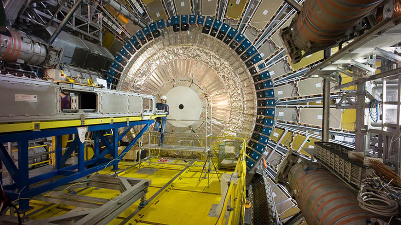 Large hadron accelerator