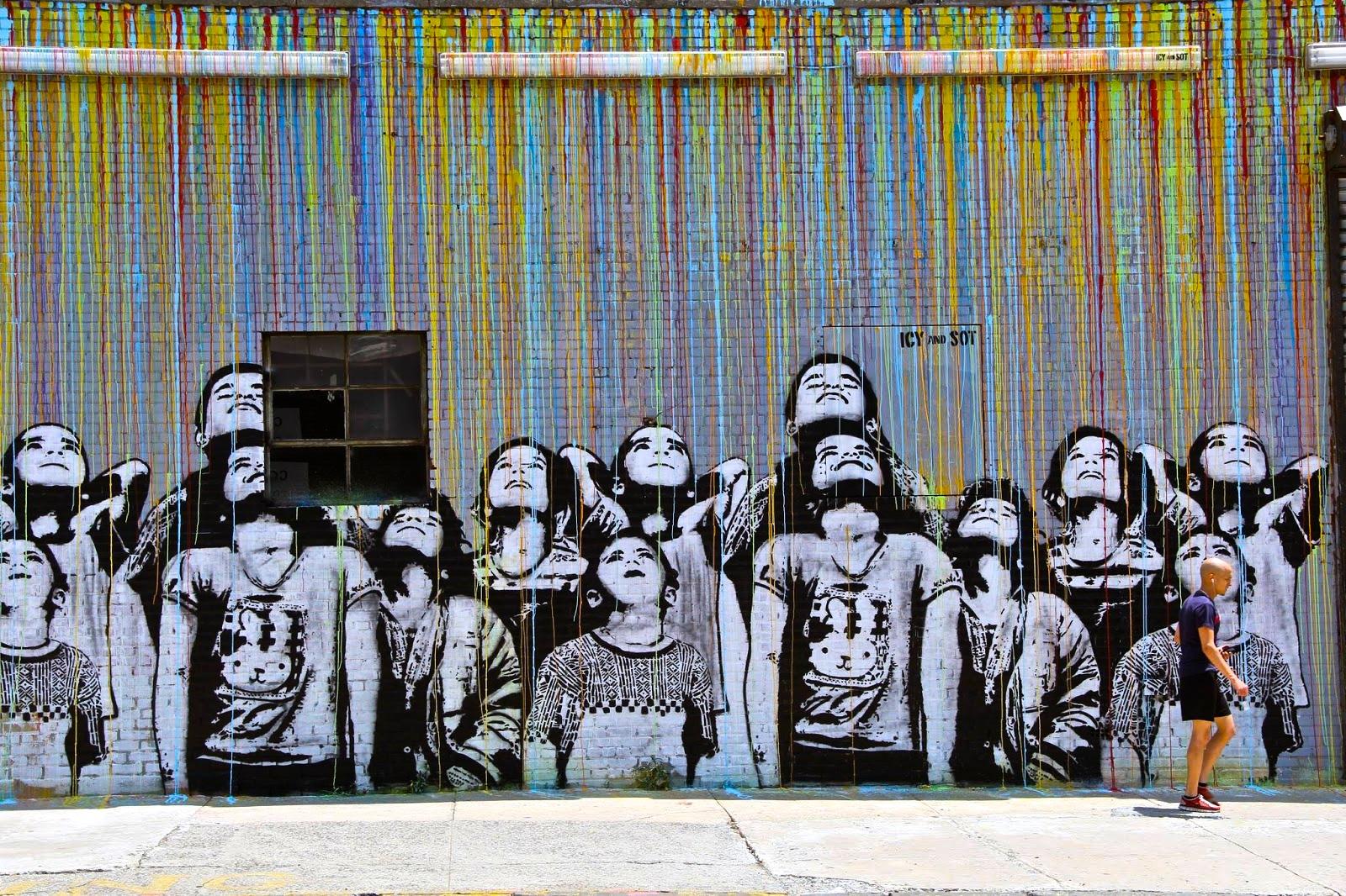 Icy & Sot street art