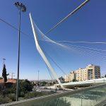 "Calatrava's ""Chords Bridge,"" Jerusalem"