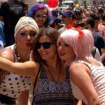 Pride Parade, Tel Aviv. Copyright Rick Meghiddo. All Rights Reserved.