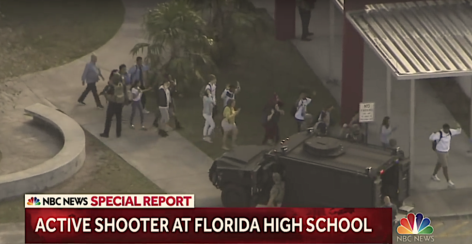 Political implications of another school shooting