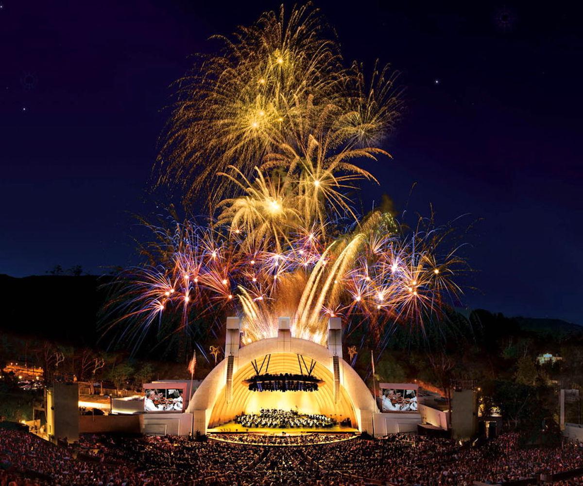 Hollywood Bowl fireworks: God Save the Tsar!