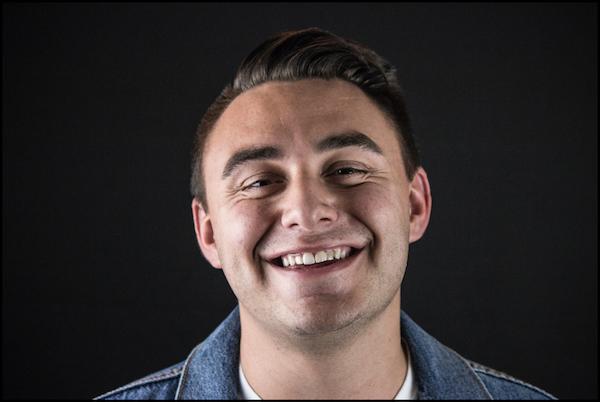 Smiling man. Photo from Unsplash.com.
