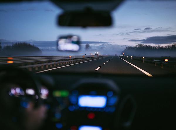 Driving in weather. Photo by Samuele Errico Piccarini via Unsplash.