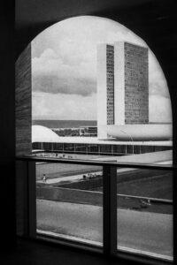Brasilia - Square of Three Powers, 1960. Architect: Oscar Niemeyer