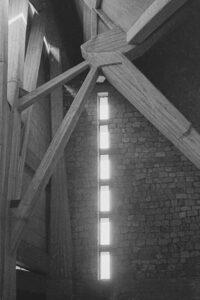 San Giovanni Battista, 1963. Architect: Giovanni Michelucci