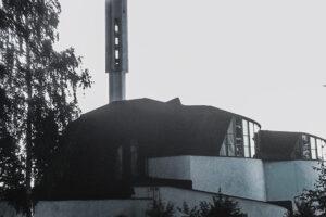 Imatra - Vuksenniksa Church, 1958. Architect: Alvar Aalto