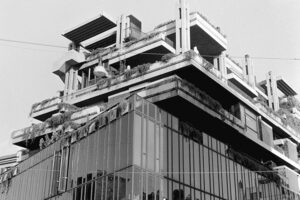 Roma - Mixed-use in via Romagna, 1965 - Passarelli Studio