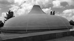 Jerusalem - Shrine of the Book, 1965. Architect: Frederick Kiesler