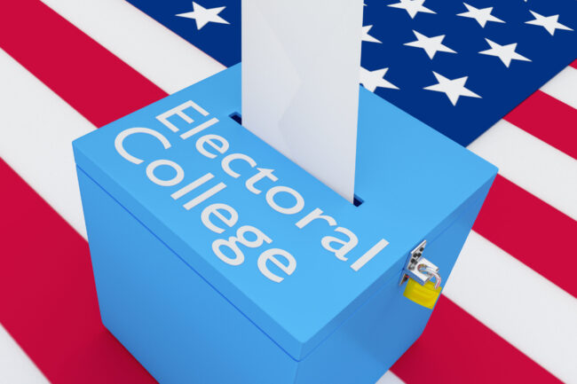 """Electoral College Reform- America's Red, White, & """"Varsity Blues"""""""